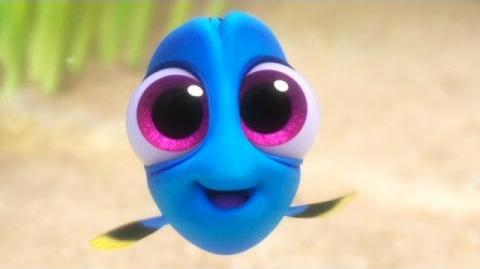 Finding Dory - Baby Dory official FIRST LOOK clip (2016)