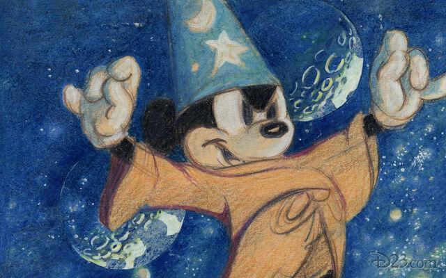 File:D23 animationdev-sorcerer-mickey-wallpaper-1680x1050-2.jpg