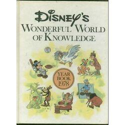 Disneys wonderful world of knowledge year book 1978