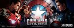 Captain America Civil War - Spanish Banner