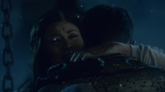File:Once Upon a Time - 6x09 - Changelings - Belle Hug.jpg