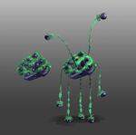 Spaceship Invader Concept 2