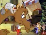 Sendy camel