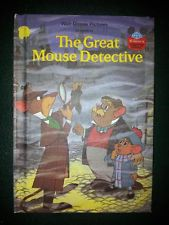 The Great Mouse Detective WWOR 1st Edition