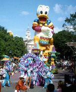 Donald Duck w Drum