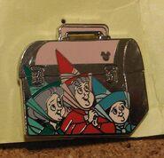 Flora fauna merryweather lunchbox pin