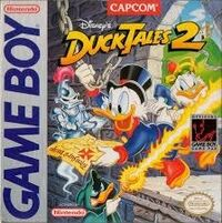 DuckTales 2 Game Boy Cover