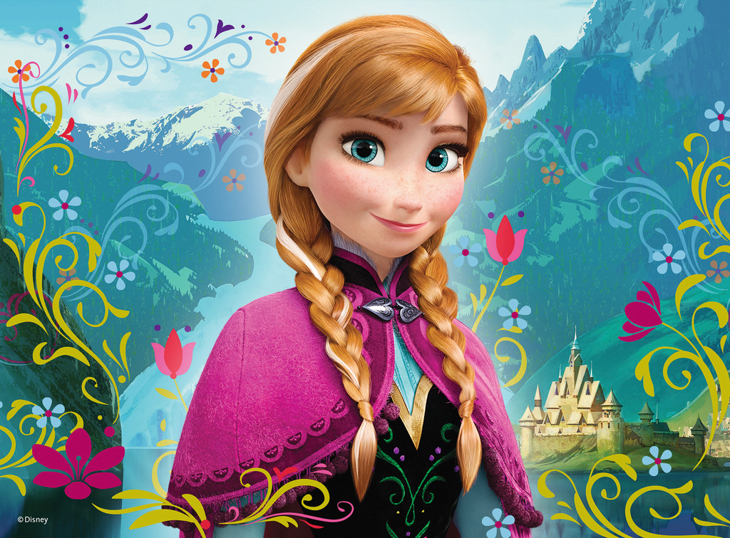 Image frozen anna wallpaper disney wiki fandom powered by wikia - Frozen anna disney ...