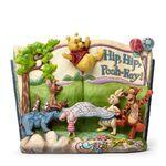 Hip, Hip, Pooh-Ray!-Winnie The Pooh Storybook Figurine