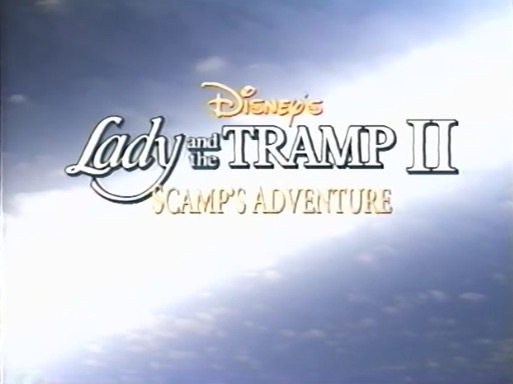 File:Lady and the Tramp 2 - Early Logo from the 1998 VHS Release.jpg