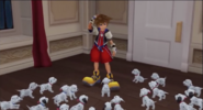 Sora and the Puppies