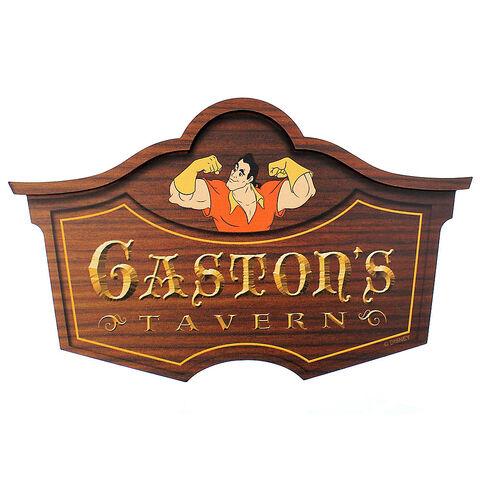 File:Gaston's Tavern Wall Sign.jpg