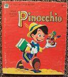 Pinocchio whitman book