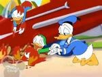 Donald rocket and nephews