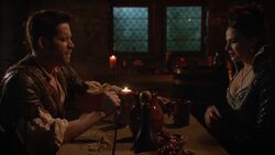 Once Upon a Time - 6x14 - Page 23 - Queen and Robin in Wish Realm