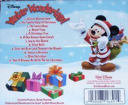Disney winter wonderland 2010 back cover