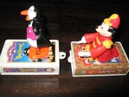 Mickey Penguin Waiter McDonalds Toy