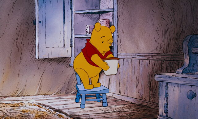 File:Winnie the Pooh found out his honey pot empty.jpg