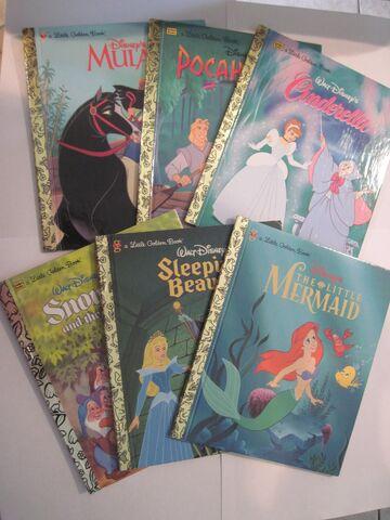 File:Disney princess collection books.jpg