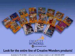 Creative wonders titles