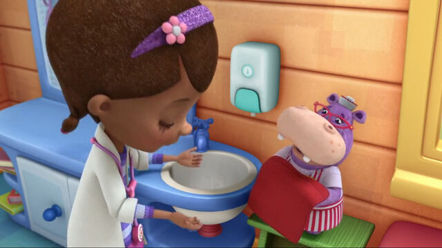 File:Doc and hallie at the sink.jpg