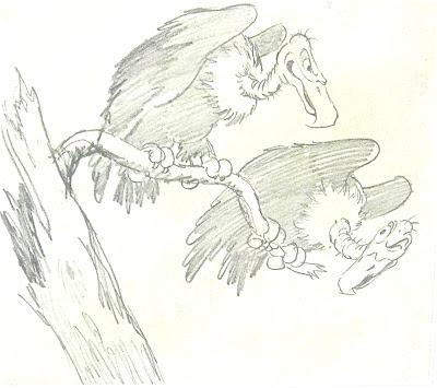 File:Disney 1937 SnowWhite+7Dwarfs orig.storyboard.sketch Vultures.JPG - Version 3.JPG