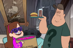 Mabel and soos