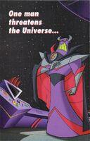 Buzz Lightyear advertisement folded in