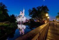 Cinderella-castle-liberty-square-bridge-moonLARGE-613x417