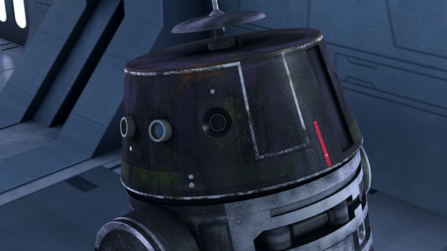 File:Chopper disguised as an Imperial Droid 2.png