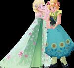 Frozen Fever - Anna and Elsa 1