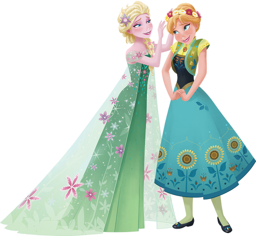 File:Frozen Fever - Anna and Elsa 1.png