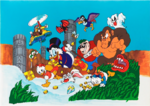 Ducktales NES - Original Japanese Cover Artwork