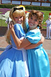 Alice and Wendy in Disneyland2