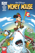 Mickey Mouse issue 311 Matterhorn cover