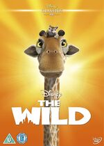 The Wild UK DVD 2014 Limited Edition slip cover