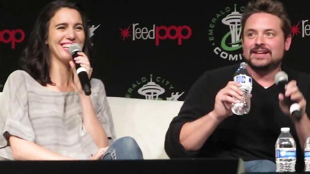 File:Christy Romano & Will Friedle KP reunion.jpg