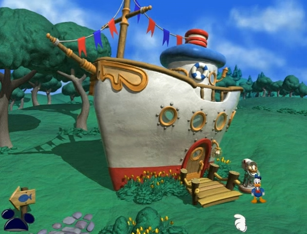 File:Donald's boat in Mickey Saves the Day 3D Adventure.jpg