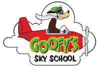 Goofy sky school logo