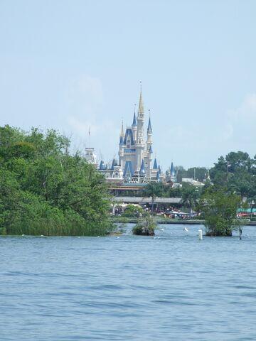 File:Magic Kingdom - Castle from Lagoon.jpg