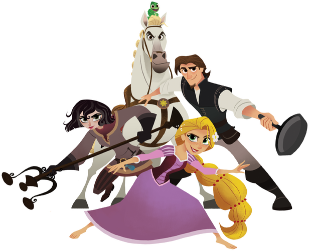 File:Tangled - Cast.png