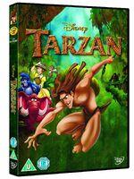 Tarzan 2013 UK DVD