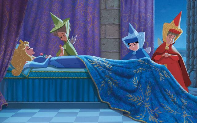 File:Disney Princess Aurora's Story Illustraition 11.jpg