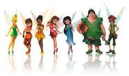 Tinkerbell characters