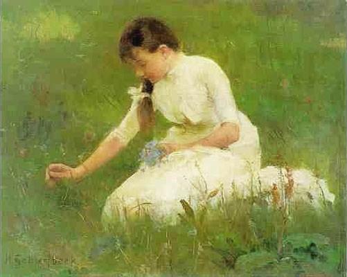 File:1880s Helene Schjerfbeck (1862-1946) Picking Bluebells.jpg