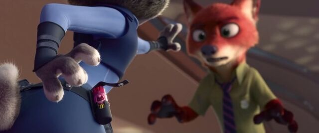 File:Judy reaches for fox repellent .jpg