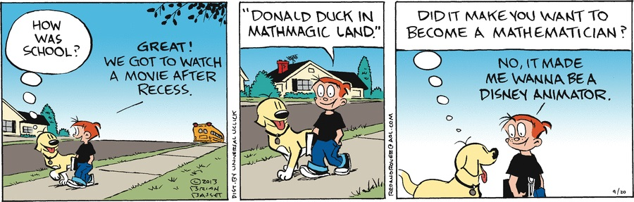 Image - Red and Rover Sept. 20 comic strip.jpg | Disney ...