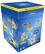 Walt Disney Classics Box Set 2005 UK DVD