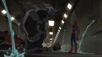 Spider-man tries to confort Rhino USMWW