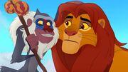 Simba and Rafiki Lion Guard